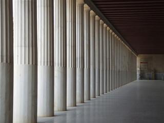 repetitive pillar pattern