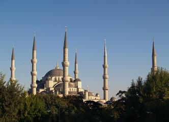 mezquita del sultan ahmet o mezquita azul