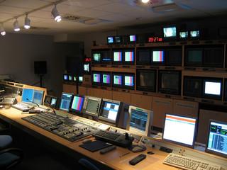 plan large régie tv