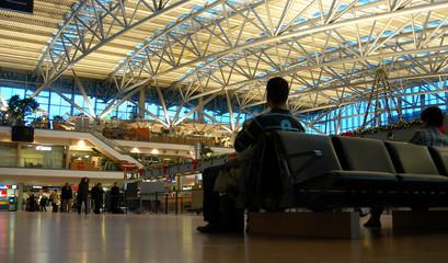 Fotobehang Luchthaven airport