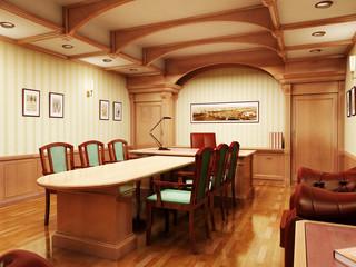3d office rendering