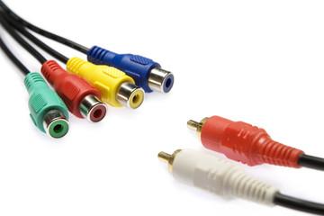 multicolored cables 17