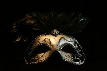silvery mask