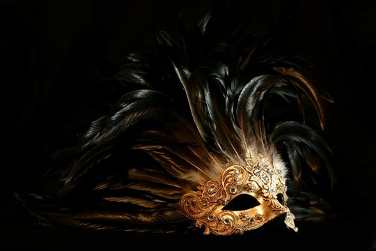 luxurious mask