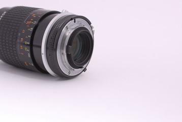 rear of lens