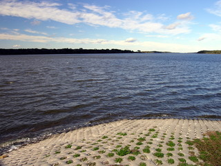 lake  and bank