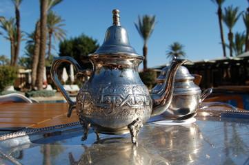 thé à la palmeraie