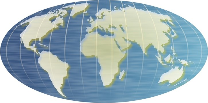 oval map