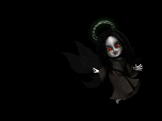 goth fairy angel 1