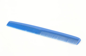 blue comb isolated