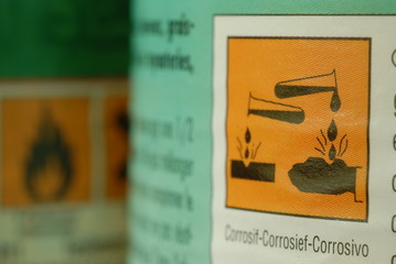 produit corrosif