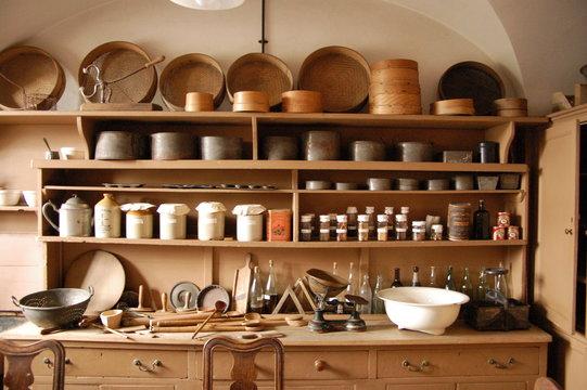 cuisine ancienne de chateau