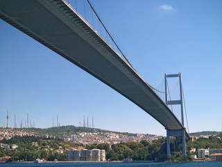 puente sobre el bosforo, estambul, turquia