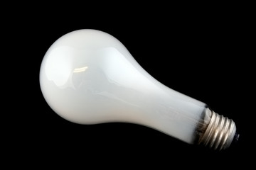bright white light bulb