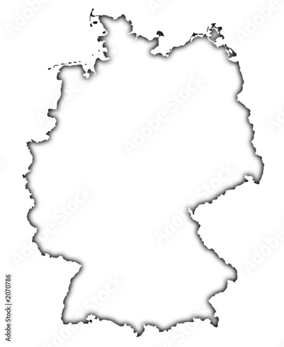 quotgermany map soft outlinequot stock photo and royaltyfree