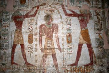 fresque - temple d'amada