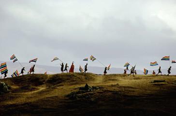 inti rami festival, cuzco peru