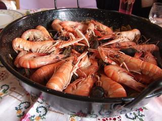 crevettes et langoustines
