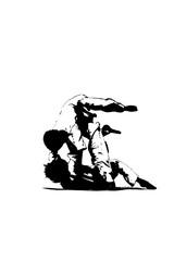 judo - tomoe-nage