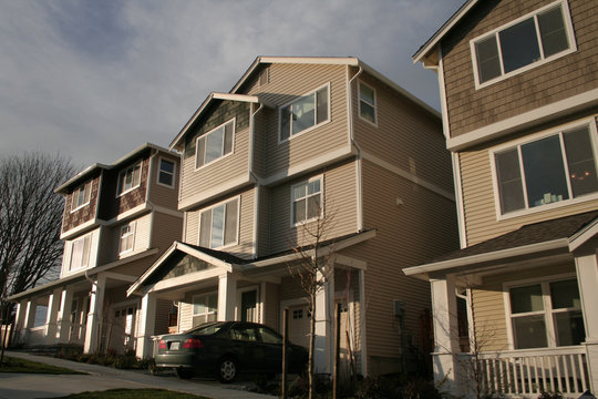 new american townhouses