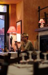 youing man in italian restaurant #5