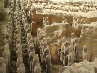 Keuken foto achterwand Xian terracotta soldiers