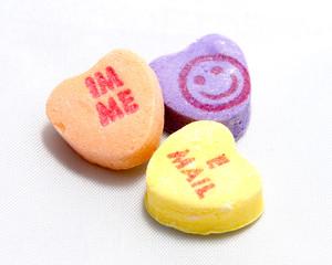 modern candy heart