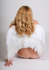 angel with bare bottom