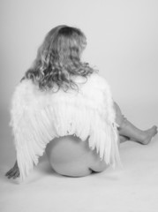 bare bottom angel
