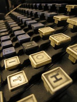 clavier de linotype