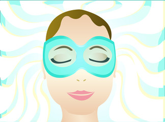 spa eye mask