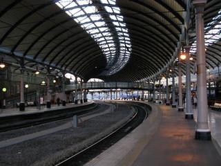 Aluminium Prints Train Station newcastle train station