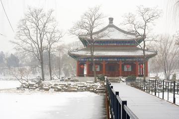 Foto op Plexiglas Beijing beijing old summer palace