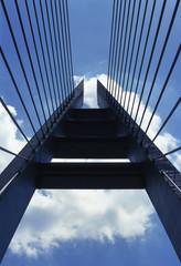 Fototapeta premium most i niebo