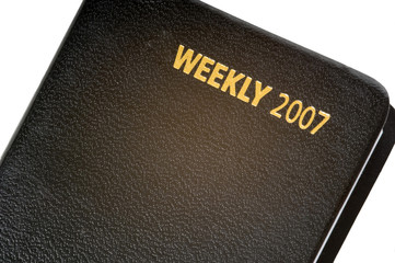 weekly calendar for 2007