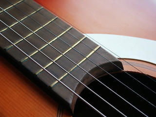 acoustic guitar detail 7
