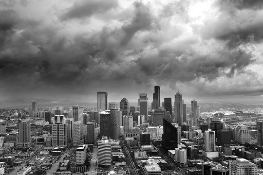 stormy seattle