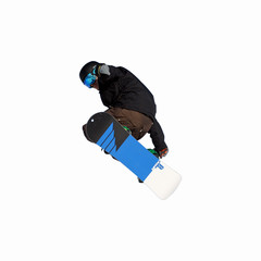 snowboard détouré