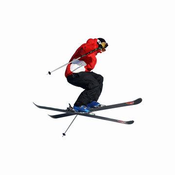 ski saut détouré