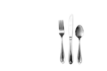 knife fork and spoon silverware