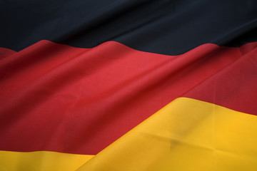 landscape view of german national flag