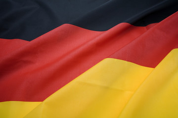 close up of german national flag