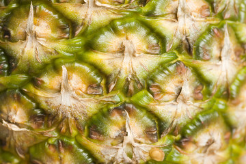 detail of a pineapple