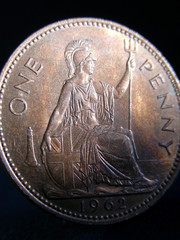 british one penny