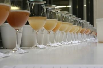 laboratory wine samples