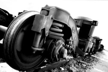 essieu d'une ancienne locomotive électrique #2