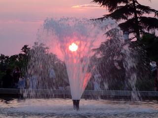 In de dag Fontaine fontaine