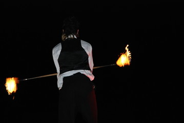 fire player