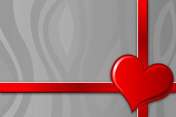 Papiers peints Rouge, noir, blanc valentine's greeting card