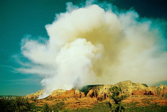 brins fire - sedona, az, june 2006